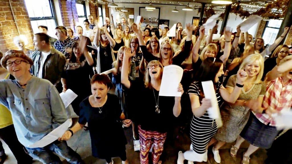 So Choir! Choir In A Bar