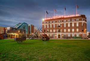 The Tetley building. Click to visit The Tetley website